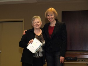 Marsha Godin and Ann Sieg at the first Renegade Action Workshop event
