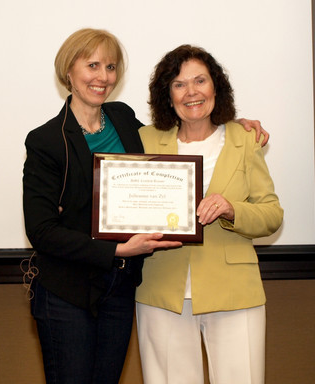 Ann Sieg and DMC Certified Trainer, Julianne van Zyl
